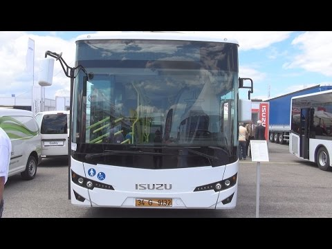 Isuzu Citiport ISB6.7E6 280B Bus (2016) Exterior and Interior in 3D