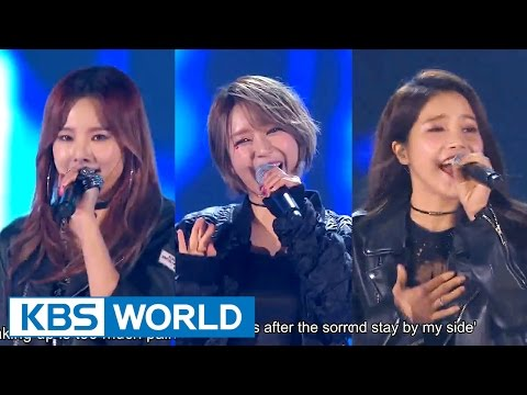 Solji & Cho A & Solar - I'll Give You The Love I Have Left [2015 KBS Song Festival / 2016.01.23]