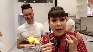 Việt Hương Cùng Bé Vy Đi Ăn Bánh Tại Le Castella Vietnam.