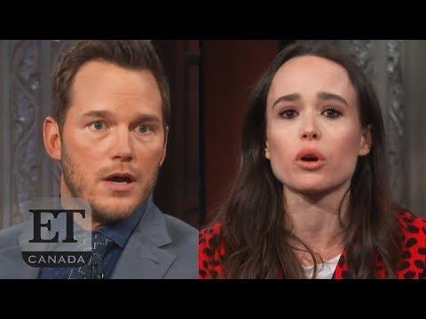 Ellen Page Calls Out Chris Pratt Over Hillsong