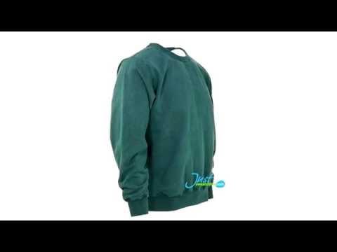 Crewneck Sweatshirt 100% Cotton Forest Sand