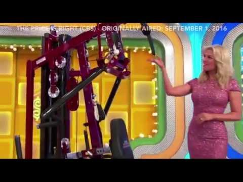 Body-Solid on The Price is Right (Originally Aired: September 1, 2016)