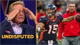 UNDISPUTED | Skip reacts Urban Meyer interested in signing Tebow because applaud he's ball skills