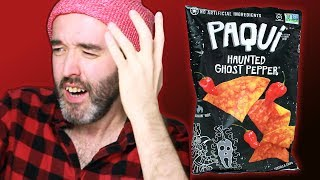 Irish People Try Spicy American Chips