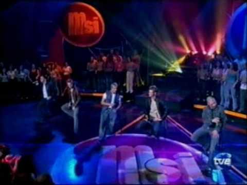 Westlife Live - En ti deje mi amor / I Lay my love on you