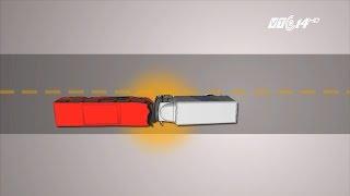 (VTC14)_Xe tải chạy 105km/h đâm nát xe khách, 12 người thiệt mạng