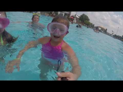 Casey, Hannah, and Connor having fun at the pool using the GoPro! Music featuring Mat Kearney