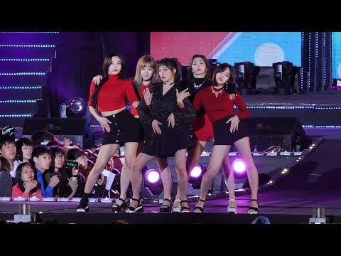 171014 레드벨벳 (Red Velvet) '빨간 맛 (Red Flavor)' 4K 직캠 @안산 우정 슈퍼쇼 4K Fancam by -wA-
