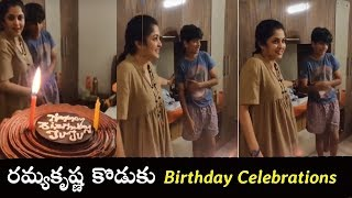 Viral Video: Actress Ramya Krishnan son Ritwik birthday ce..