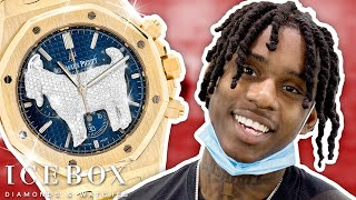 The GOAT Polo G Shops for Rare Audemars Piguet Watch at Icebox!