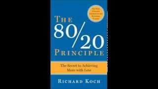 The 80 20 Principle by Richard Koch Audio Book Self Help Improvement