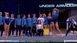 Madison Kocian 2018 Floor vs SJSU 9.800