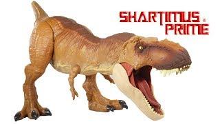 Jurassic World Super Colossal T-Rex Fallen Kingdom 1:12 Scale Dinosaur Mattel Toy Figure Review