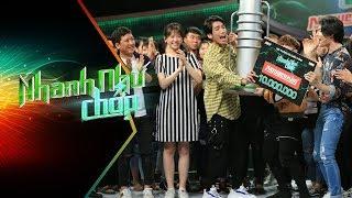 Trường Giang - Hari Won Vỡ Òa Trước Đội Siêu Lầy Giành 80 Triệu | Nhanh Như Chớp | Tập 34 Full HD