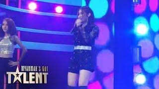 Blueberry: ေဆးေက်ာင္းသား | Myanmar's Got Talent 2019