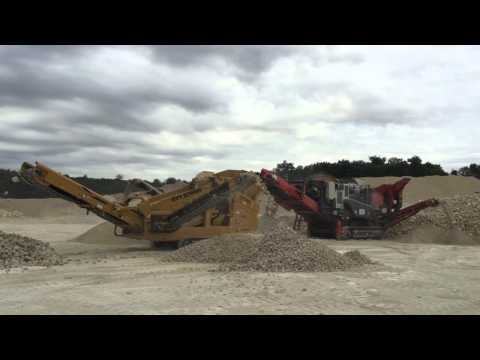 DF410 Screener pictured behind an Impactor
