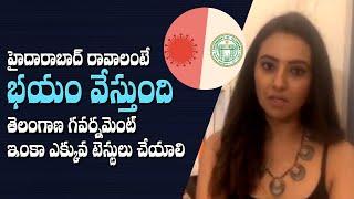 I am scared to visit Hyderabad: Actress Isha Chawla..