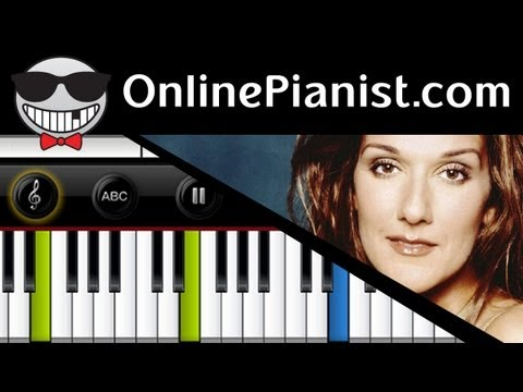 Celine Dion - My Heart Will Go On (Titanic Theme Song) - Piano Tutorial