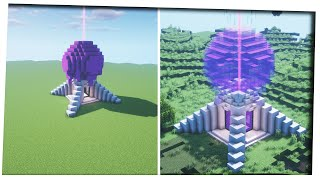 Minecraft 1.16 - Futuristic Netherportal Design Nether Portal Ideas   How To Build Step by Step