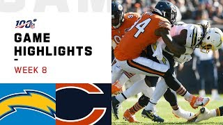 Chargers vs. Bears Week 8 Highlights | NFL 2019