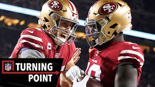 How George Kittle Put Away the Packers in Week 12 | NFL Turning Point