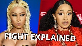 Cardi B & Nicki Minaj FIGHT Explained!