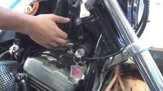 #117 How To Do It, fix Gas Tank Lift Brackets 1991-03 XL EVO Sportster Harley Bobber Chopper