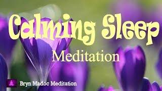 Calming Sleep Meditation Music, Meditation Music for Stress Relief, Soothing Sleep Music,