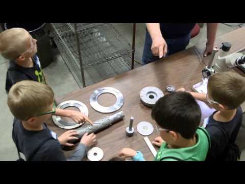 Take Our Daughters and Sons to Work Day at Abrasive Technology