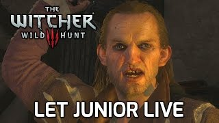 Witcher 3: Choosing to Let Whoreson Junior Live