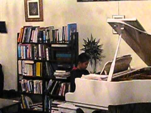 "My student Joey R. performs ""Famous People"" by Faber at the Musicality Network Recital November 9, 2013"