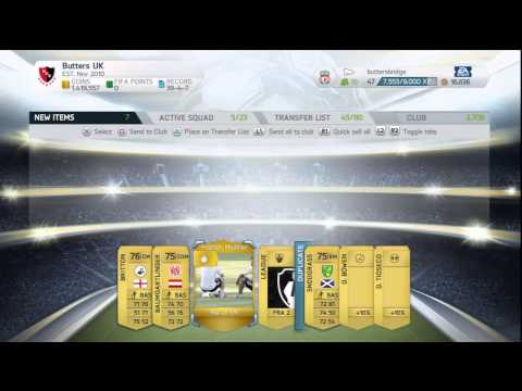 Fifa 14 Ultimate Team || Thursday Pack Night Episode 6