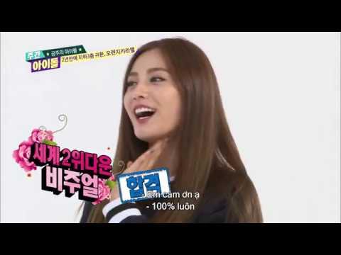 주간아이돌 (Weeky Idol) - 금주의 아이돌 ORANGE CARAMEL 2년만의 귀환 (Vietnam Sub)