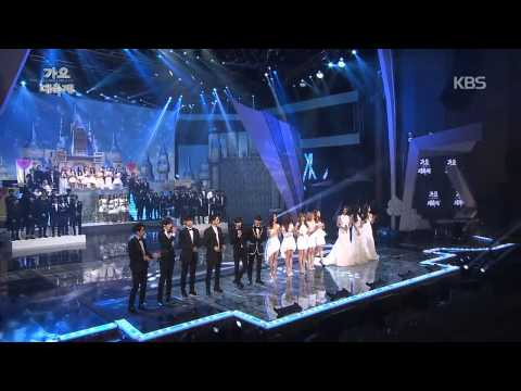 [HIT] KBS 가요대축제-전 출연자(All Artists) - Must Have Love.20141226