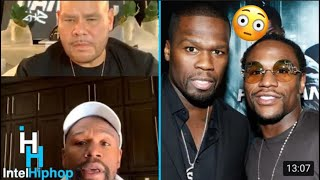 Floyd mayweather tells fat joe the real reason why him & 50 cent fell out and gives free game 👀