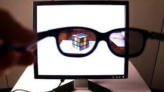 Как сделать секретный монитор с защитой от подглядывания