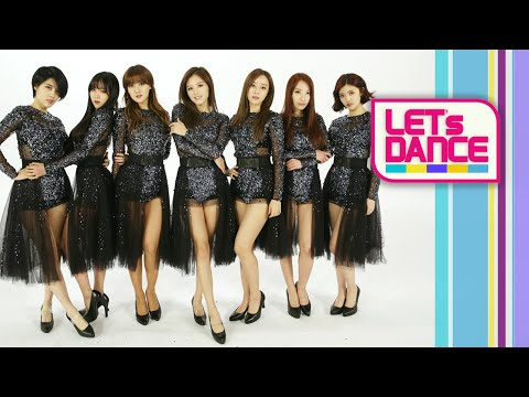 Let's Dance: RAINBOW(레인보우) _ Black Swan(블랙스완) [ENG/JPN/CHN SUB]