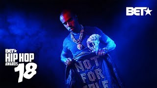 Vic Mensa, G Herbo, Taylor Benett And Nick Grant Drop Heat! | Hip Hop Awards 2018