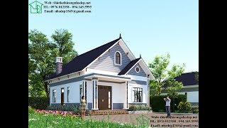 Nhà cấp 4 mái thái nông thôn giá xây dựng dự kiến 500 triệu NDNC468
