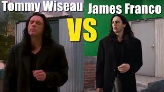 Tommy Wiseau VS James Franco