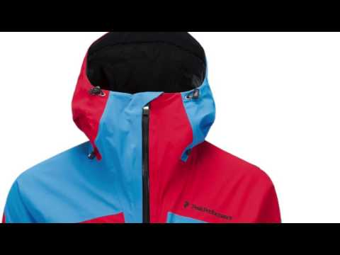 Peak Performance Heli 2L Gravity Mens Ski Jacket in Multi Red