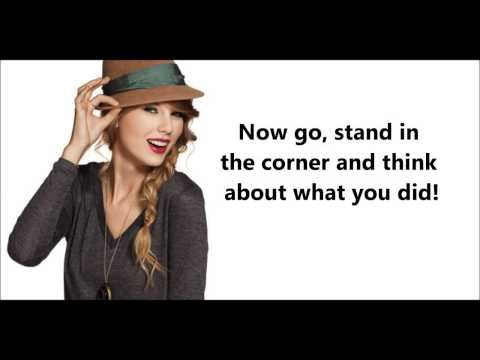 Better Than Revenge - Taylor Swift (lyric video)