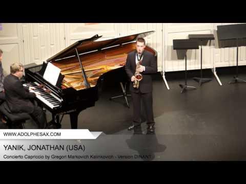 Dinant 2014 - YANIK Jonathan (Concierto Capriccio by Gregori Markovich Kalinkovich - Version DINANT)