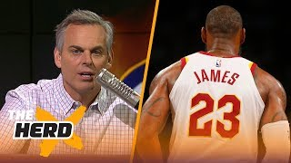 Colin on 6 things LeBron has accomplished in his career, super teams in the NBA | NBA | THE HERD