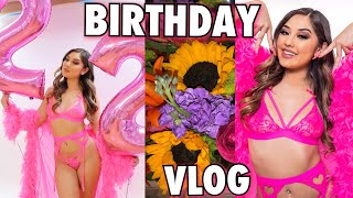 22ND BIRTHDAY VLOG!: photoshoot, chill day at home, boo'd up, etc. ♡
