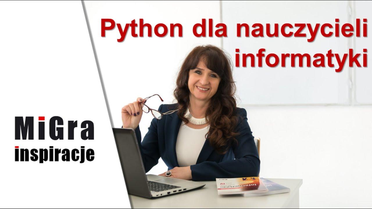 Python dla nauczycieli