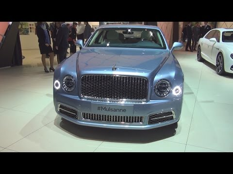 Bentley Mulsanne (2016) Exterior and Interior in 3D