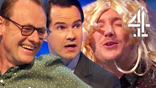 Creeped Out by Jon Richardson's Fake Orgasm!! | Best of Jon 8 Out of 10 Cats Does Countdown Pt. 4
