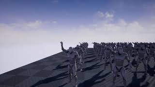 Evolving waving animation using Neural Networks and Genetic Algorithms on Unreal Engine
