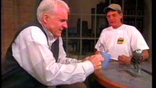 Steve Martin On David Letterman, Mid-90s